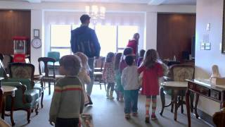 A Preschool that Meets in a Nursing Home