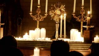 Eucharistic Adoration at Catholic Underground