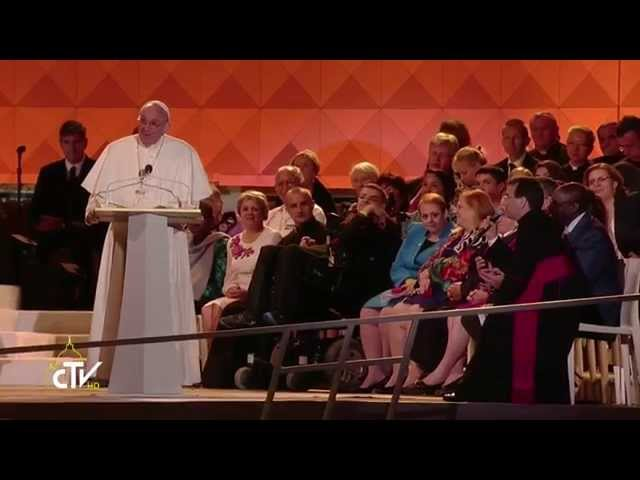 Pope Francis Final Family Speech in Philidalphia