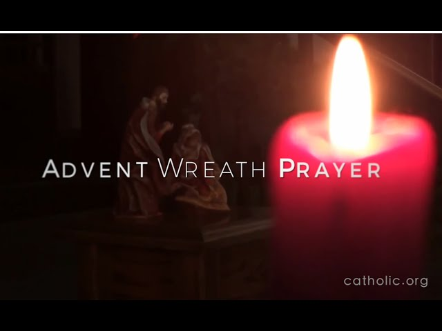 Advent Wreath Prayer