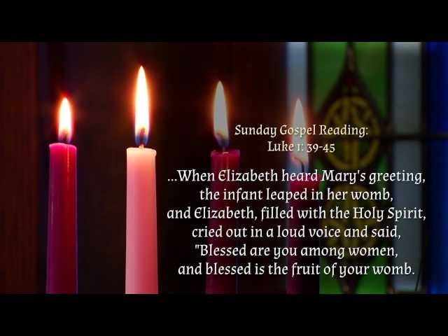 Fourth Sunday of Advent at Notre Dame