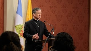 Archbishop Cupich discusses Apostolic Exhortation