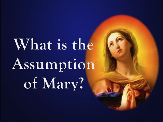 What is the Assumption of Mary?