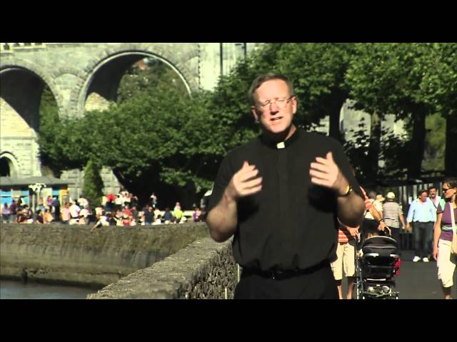 Bishop Barron in Lourdes