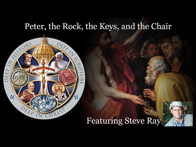 Peter - The Rock, Keys and Chair