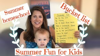 Summer Homeschool and Fun