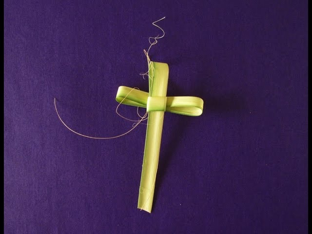 How to Make Palm Crosses